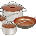 NuWave Silver 7 Piece Cookware Set